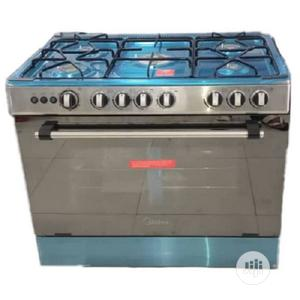 Midea 5 Burners Standing Gas Cooker 90 X 60   Kitchen Appliances for sale in Lagos State, Ikeja