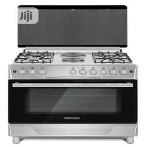 Bruhm Standing Gas Cooker 5 Gas Burners 90 X 60 | Kitchen Appliances for sale in Lagos State, Ikeja