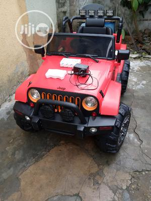 Uk Used Licensed 12 Volts Jeep Wrangler With Remote Control | Toys for sale in Lagos State, Surulere