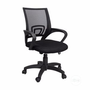 Executive Mesh Office Chair - Black - Mar04   Furniture for sale in Lagos State, Alimosho