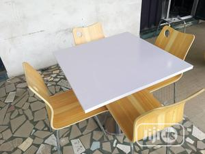 A Set of Wooden Restaurant/Dinning Table With 4 Chairs   Furniture for sale in Lagos State, Surulere