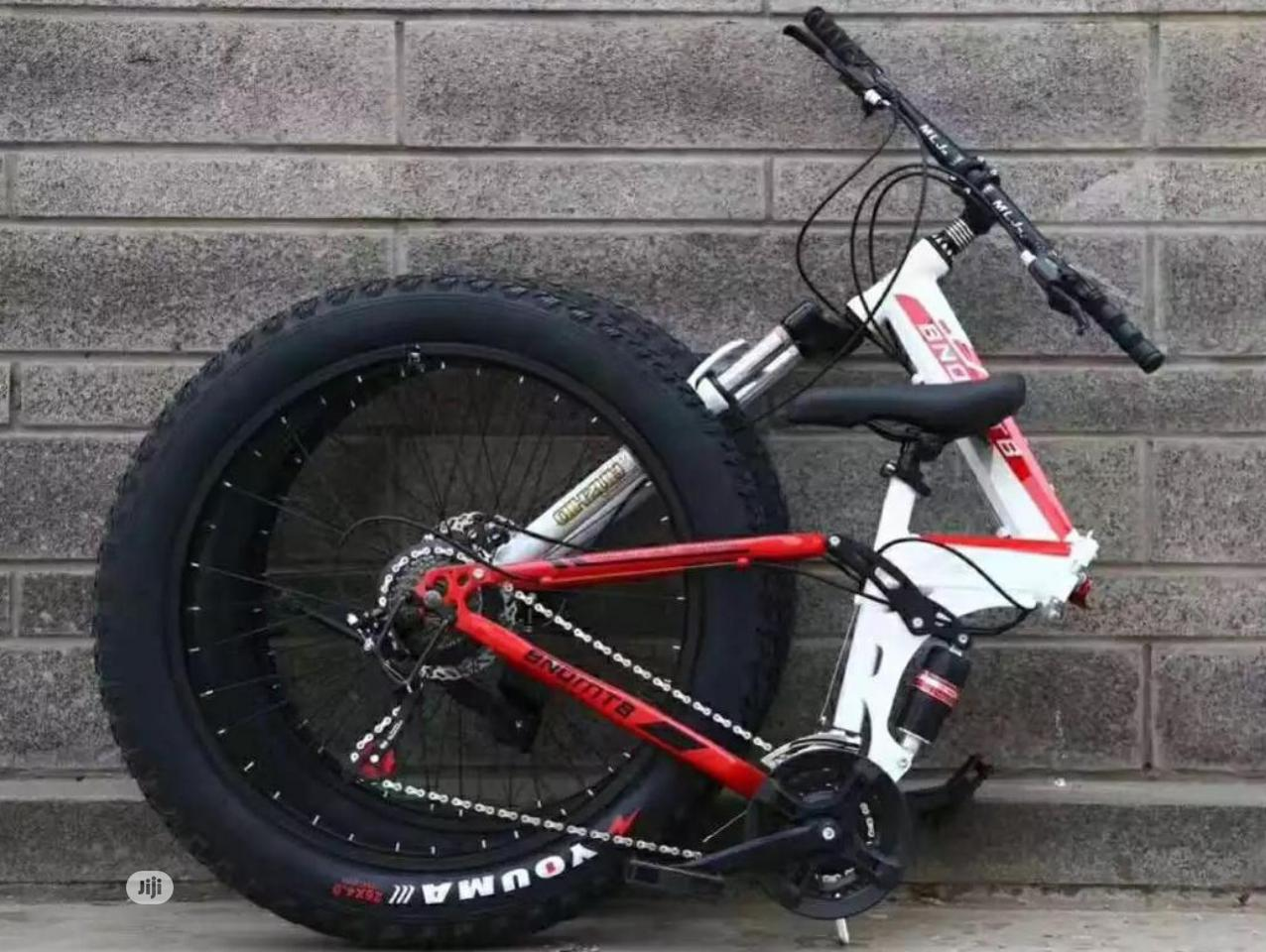 Archive: Foldable Mountain Bicycle