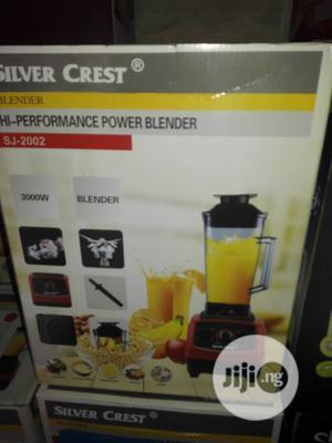 Heavy Duty Silver Crest Blender (Commercial Blender) 3000w   Kitchen Appliances for sale in Lagos State, Ojo