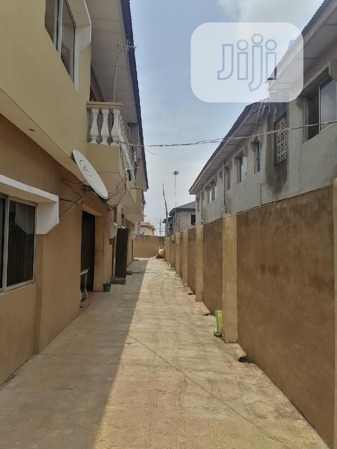 The 2 Building Is 4sale on a 2 Plot of Land at Odogunyan