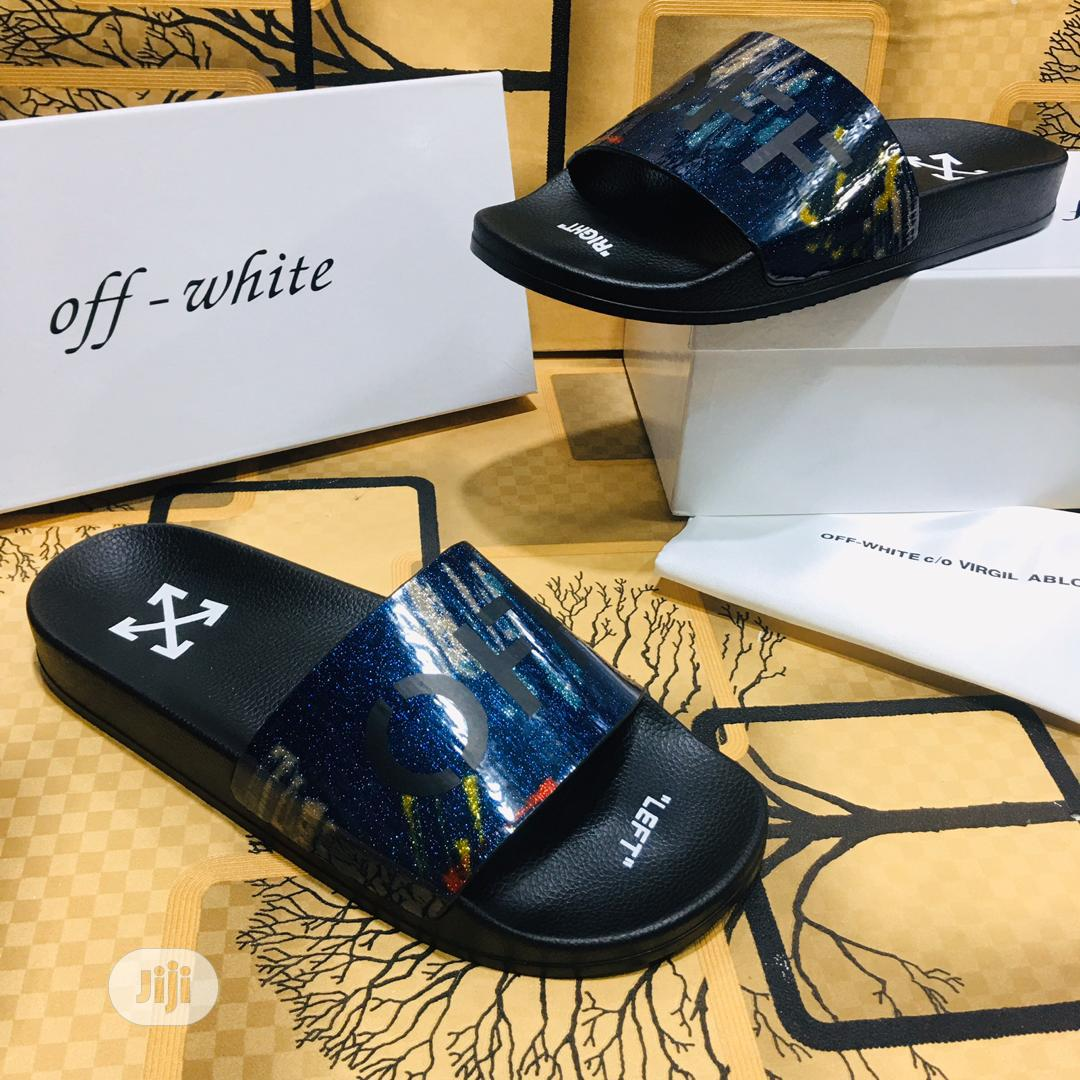 Slides - Off-White D111 | Shoes for sale in Alimosho, Lagos State, Nigeria