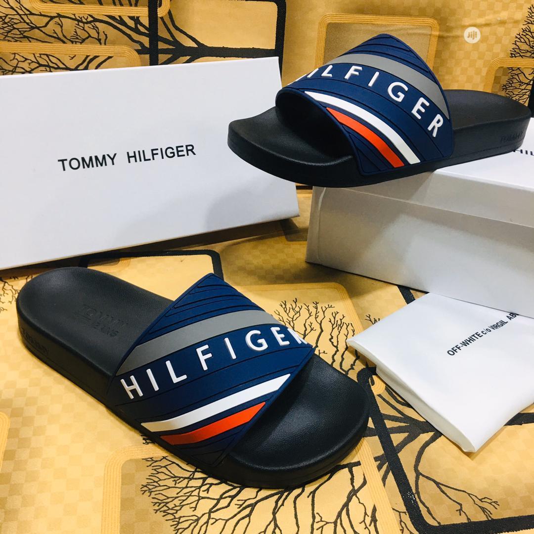Slides - Tommy Hilfiger D111 | Shoes for sale in Alimosho, Lagos State, Nigeria