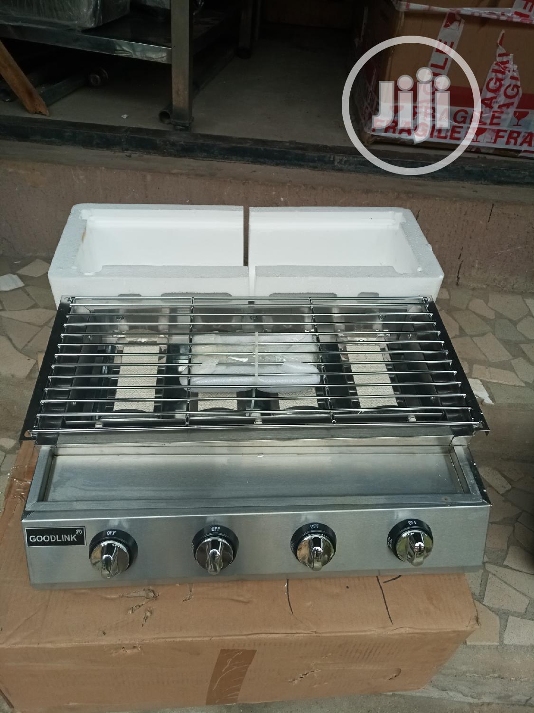 Gas Grill Machine