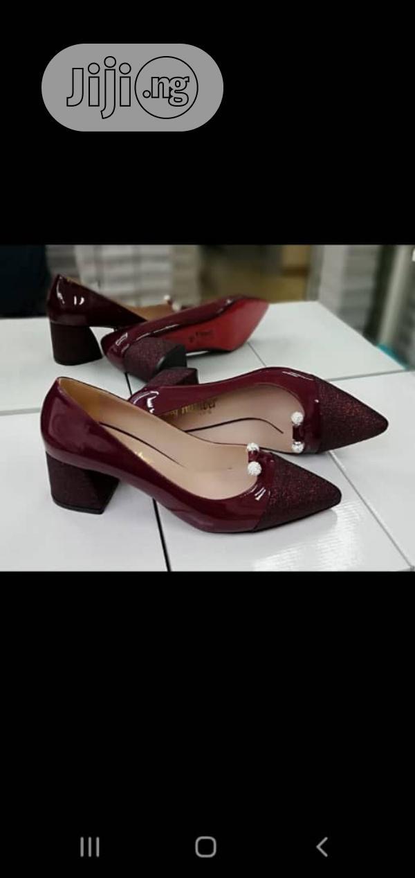 New Quality Female Block Heel Shoes