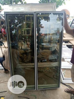 Frameless Window With Burglary And Net   Windows for sale in Lagos State, Agege