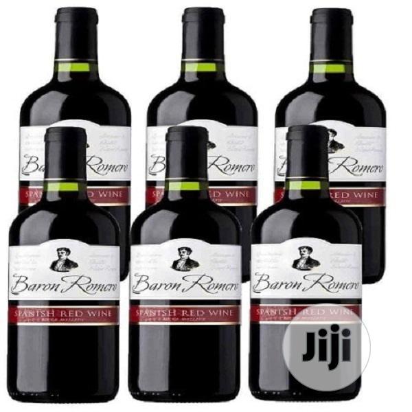 Baron Romero Red Wine - 750ml X6
