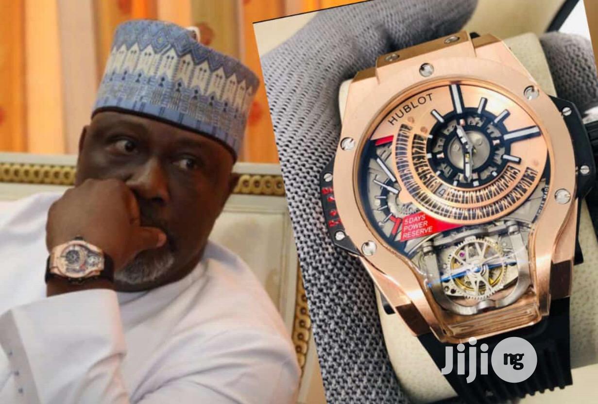 Hublot Mechanical Rose Gold Watch