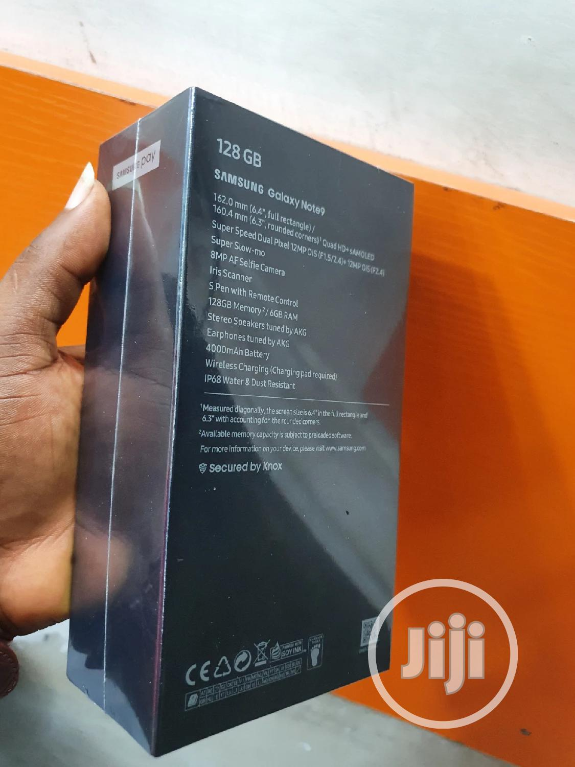 New Samsung Galaxy Note 9 128 GB Blue | Mobile Phones for sale in Ikeja, Lagos State, Nigeria