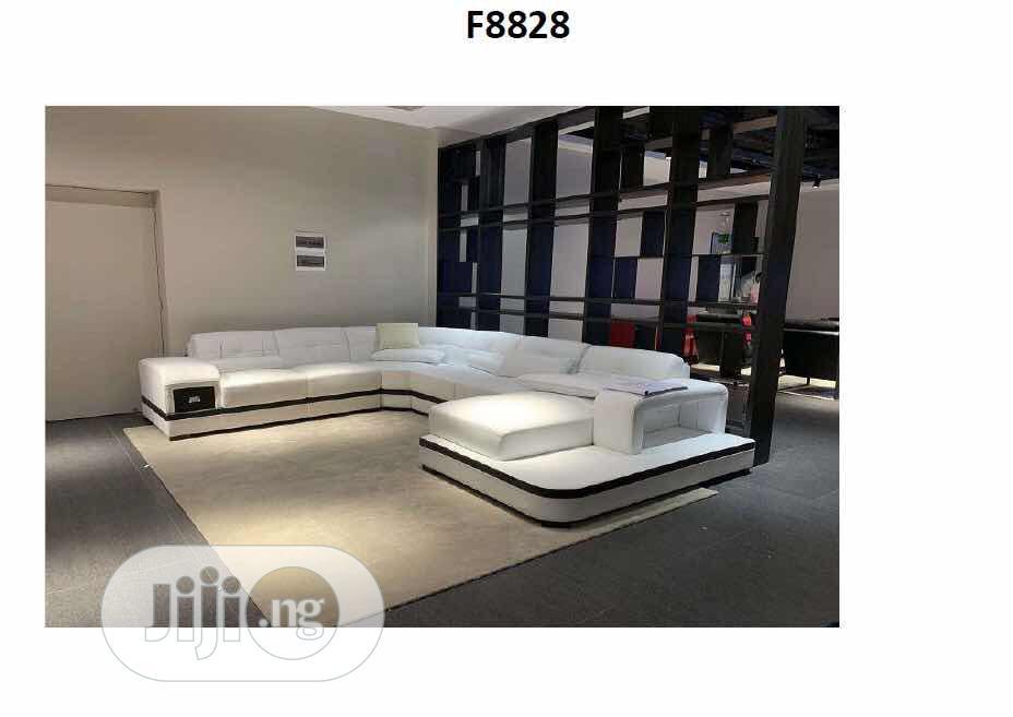 Archive: White L-sharp Sofa
