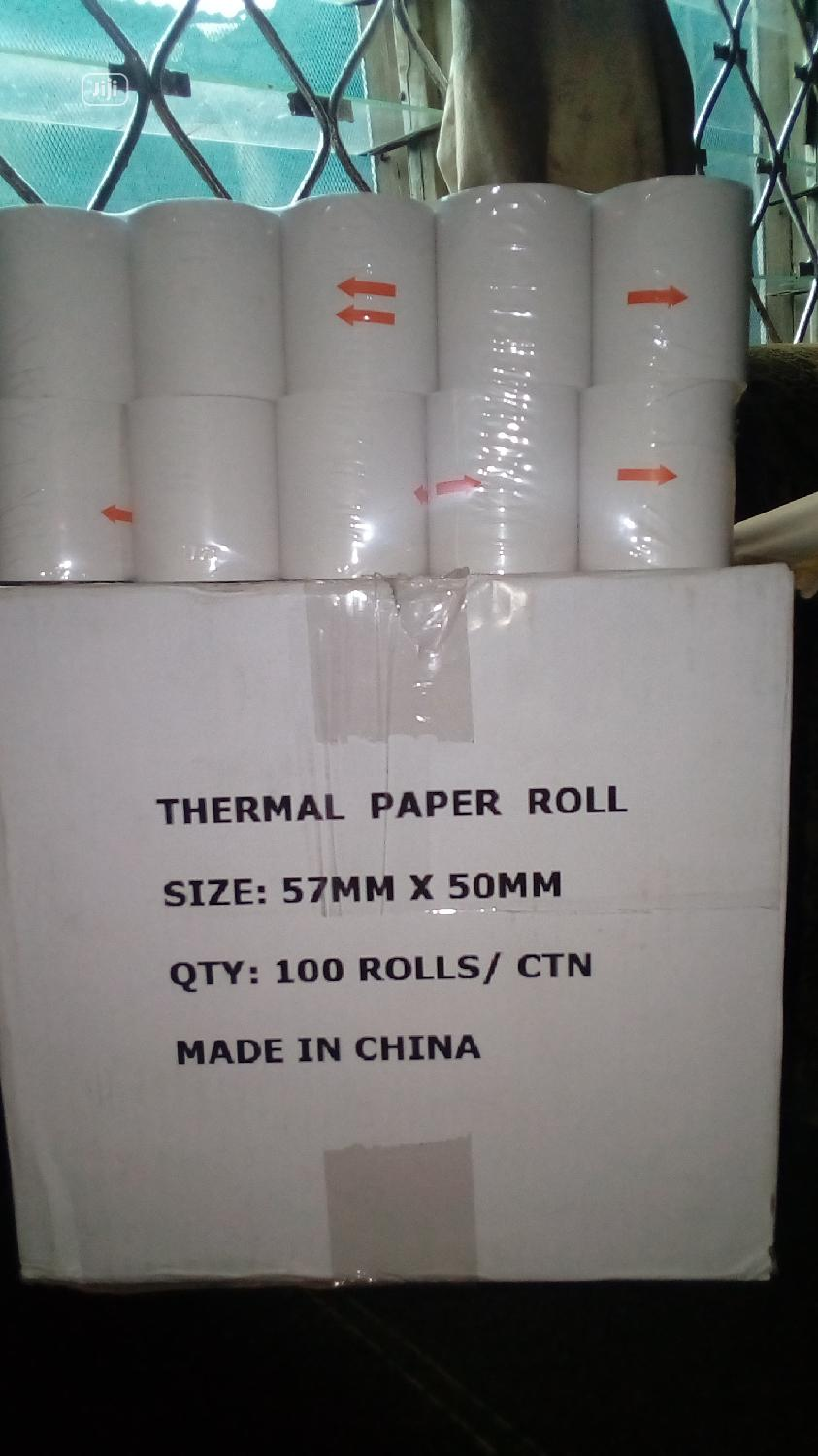 Archive: 57×50mm Thermal Paper Roll