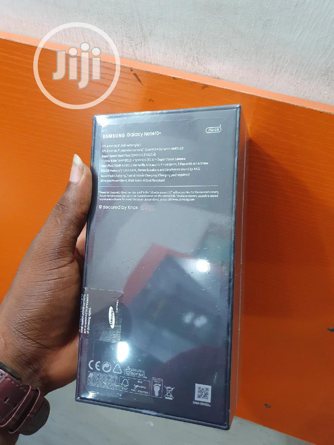 New Samsung Galaxy Note 10 Plus 256 GB Silver | Mobile Phones for sale in Ikeja, Lagos State, Nigeria