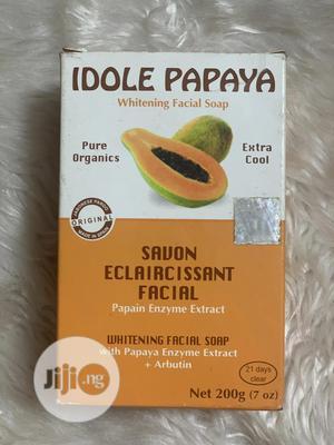 Idole Papaya Lightening Soap | Bath & Body for sale in Lagos State, Abule Egba