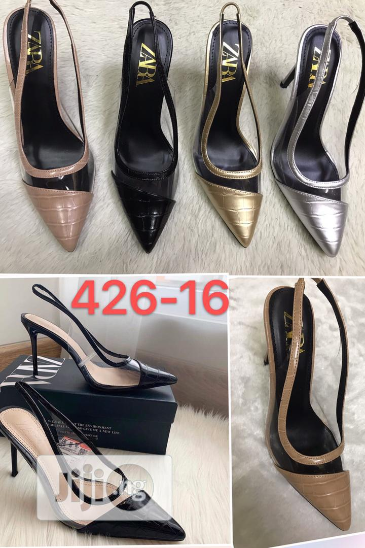 Pencil Heel Shoe for Ladies/Women Available in Sizes