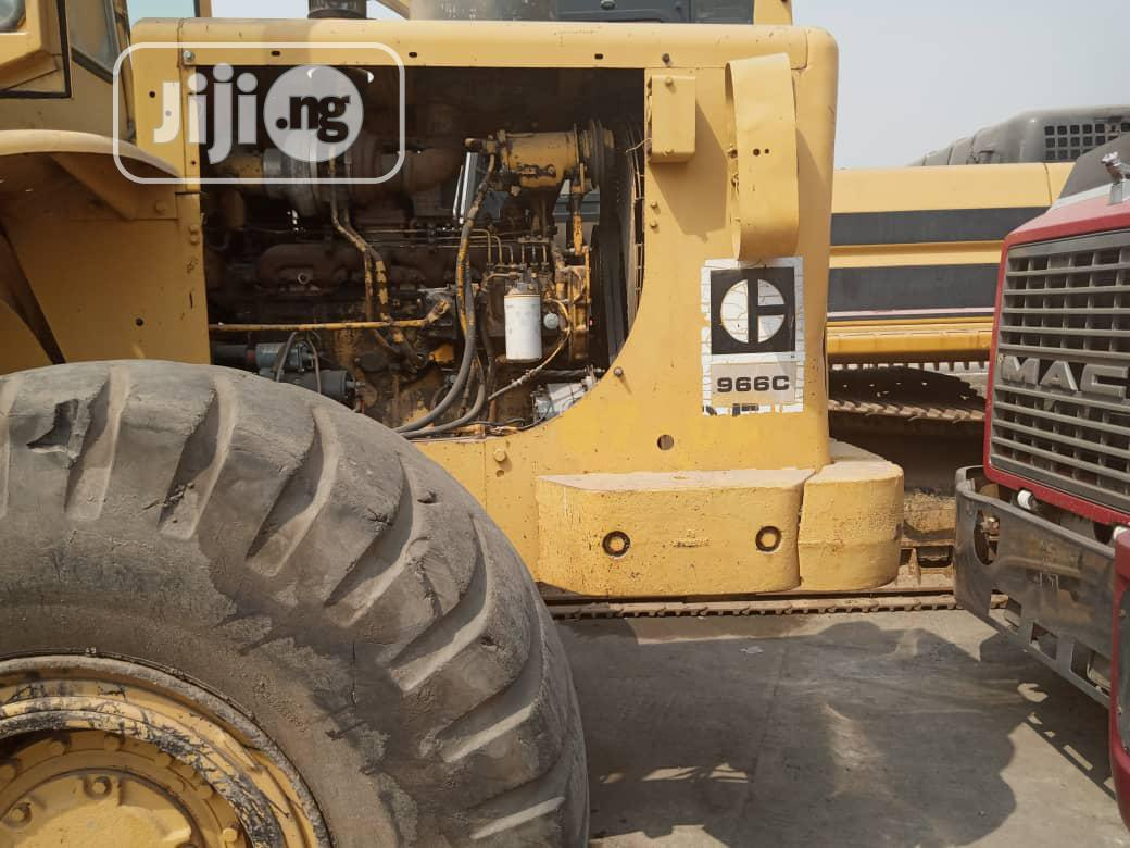 Tokunbo Pay Loader 966c For Sale | Heavy Equipment for sale in Ikorodu, Lagos State, Nigeria