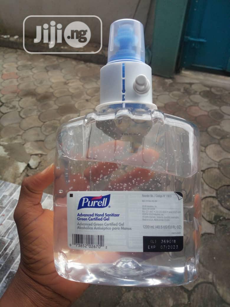 PURELL LTX12 Hand Sanitizer Gel,1200 Ml