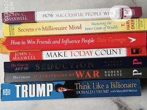 Seven Collection of Self Help Books   Books & Games for sale in Lagos State, Yaba