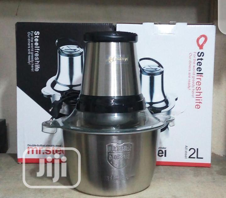 Electric Food Processor Meat Grinder And Yam Pounder