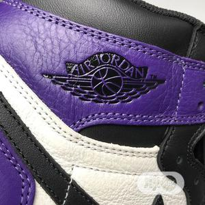 Nike Ir Jordan 1 OG Purple   Shoes for sale in Lagos State, Ojo