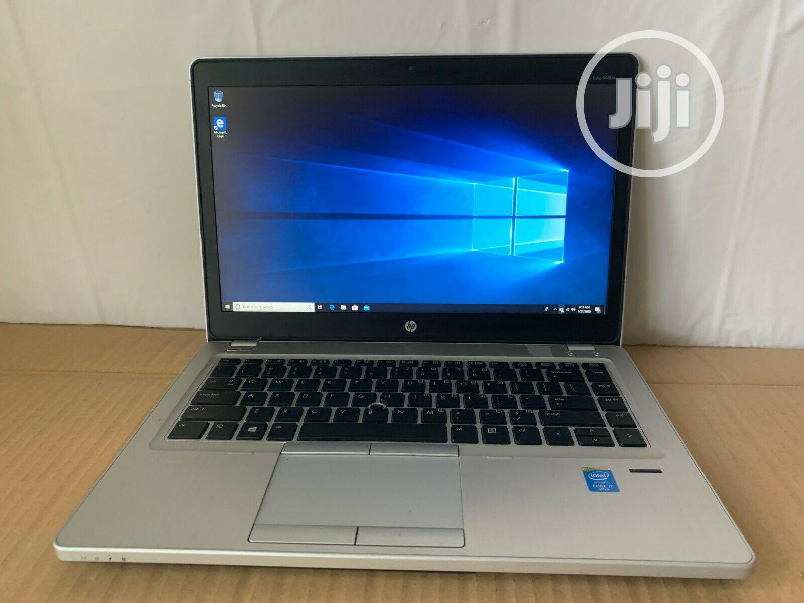 Laptop HP EliteBook Folio 9480M 4GB Intel Core I5 HDD 320GB | Laptops & Computers for sale in Gwarinpa, Abuja (FCT) State, Nigeria