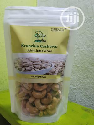 200g Lighted Salted And Spicy Whole Cashew Nuts   Meals & Drinks for sale in Lagos State, Lekki