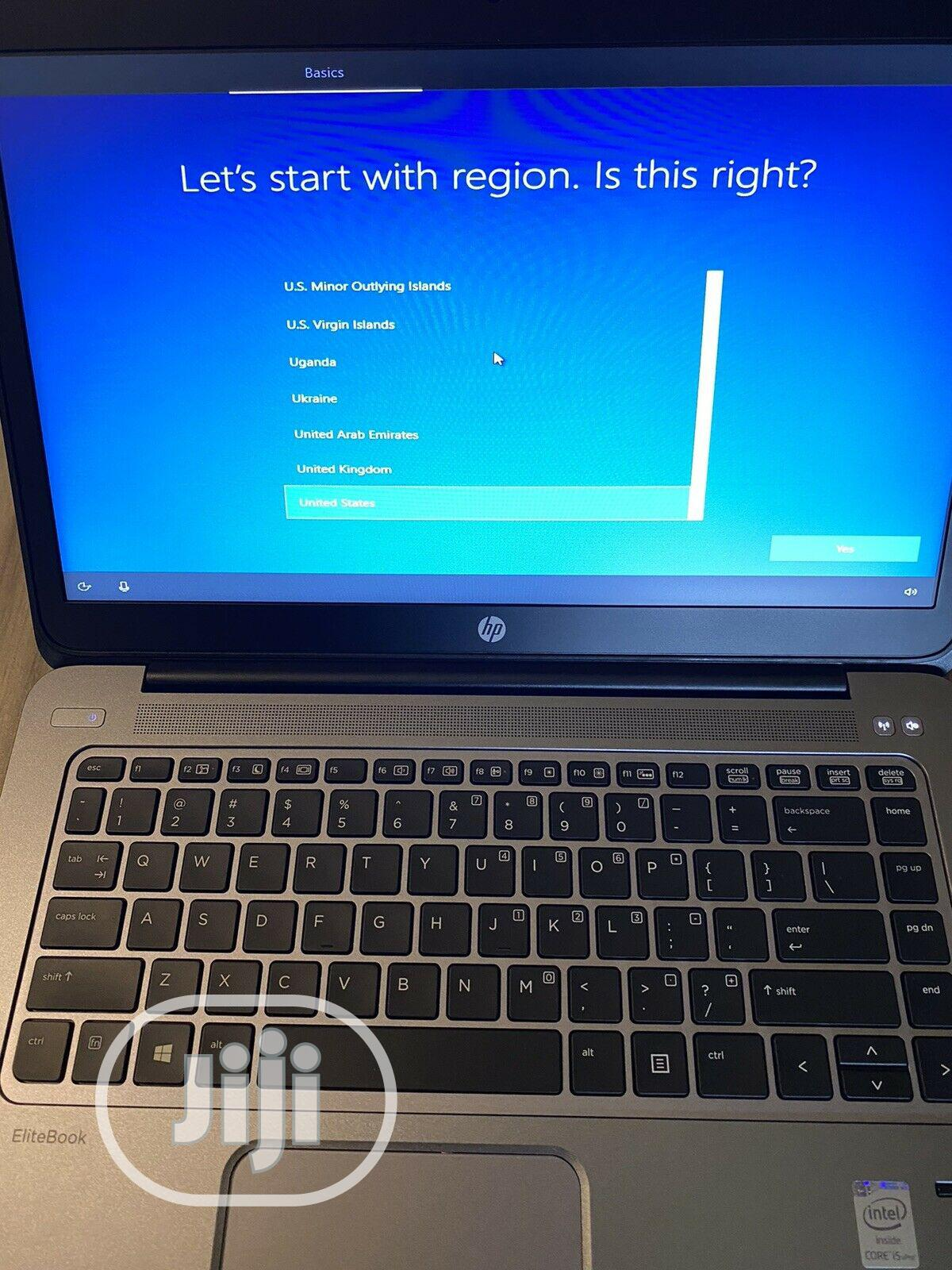 Laptop HP EliteBook Folio 1040 G2 8GB Intel Core i5 SSD 128GB   Laptops & Computers for sale in Wuse 2, Abuja (FCT) State, Nigeria