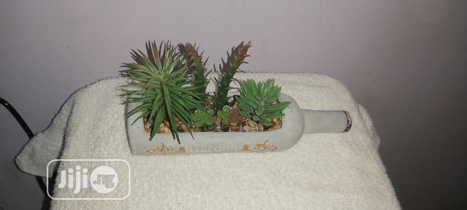 Mixed Artificial Succulent And Cactus In A Planter | Arts & Crafts for sale in Ilorin South, Kwara State, Nigeria