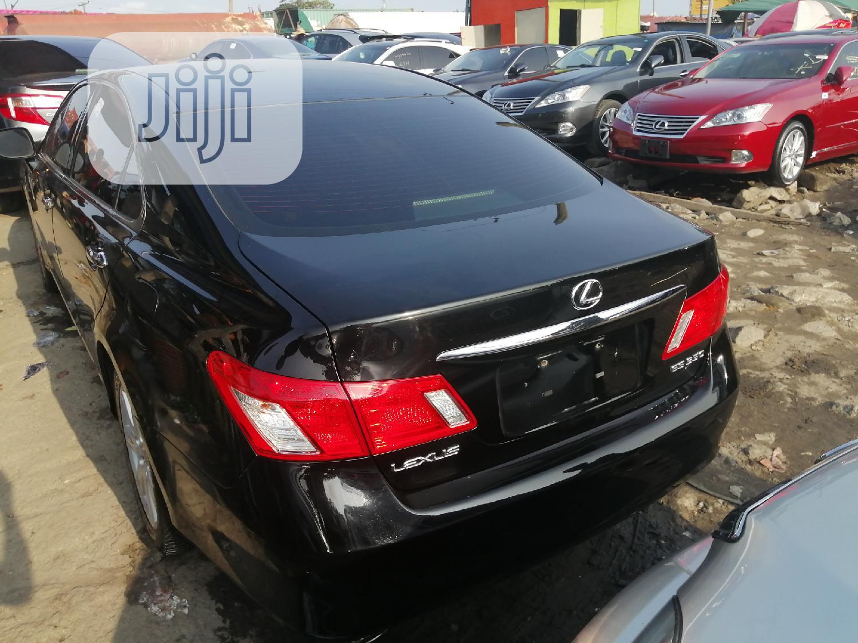Lexus ES 2009 350 Black | Cars for sale in Apapa, Lagos State, Nigeria