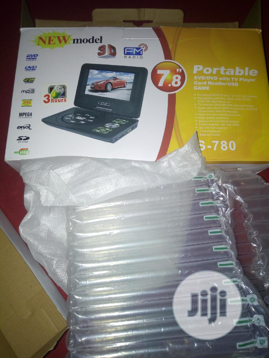 New Sony Portable DVD Player | TV & DVD Equipment for sale in Alimosho, Lagos State, Nigeria