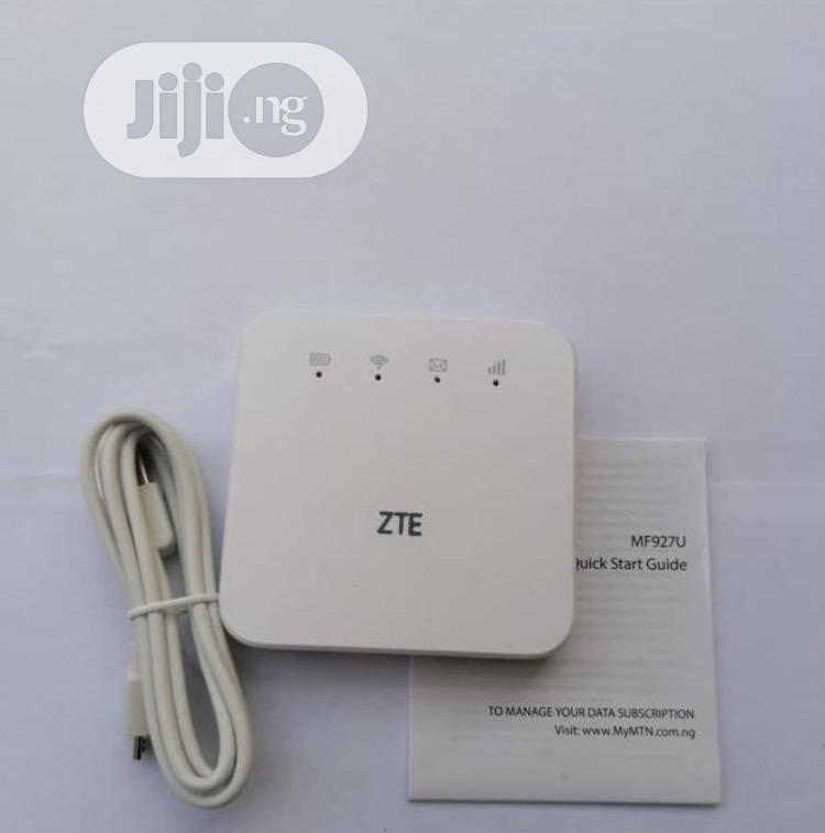 Archive: ZTE MF927U 4G LTE For Glo LTE, Swift, Spectranet And Ntel