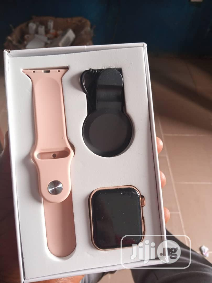 Apple Series 5 Copy Smart Watch Available for Sale | Smart Watches & Trackers for sale in Enugu, Enugu State, Nigeria