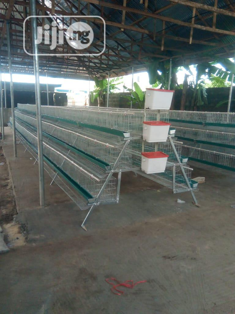 Layers Cage (Battery Cage) Imported | Farm Machinery & Equipment for sale in Amuwo-Odofin, Lagos State, Nigeria