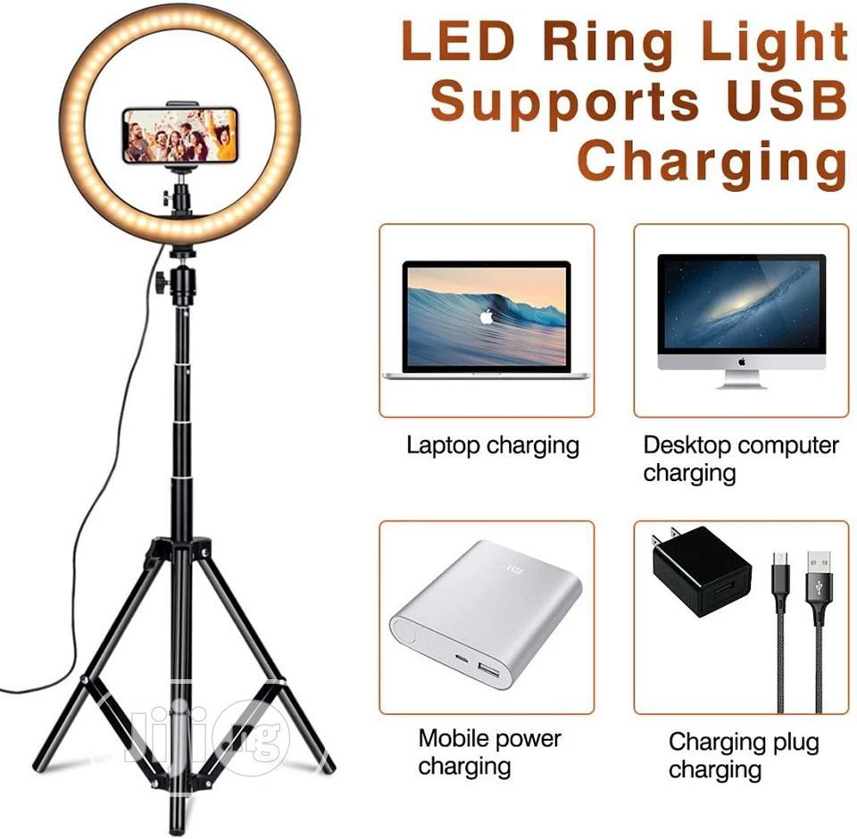 10inch/26cm Led Ring Light Selfie Ring Light Photography