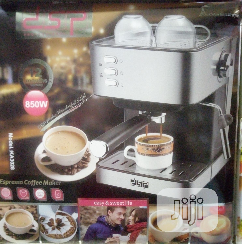 Archive: Dsp Coffee Maker Espresso 850 Watts