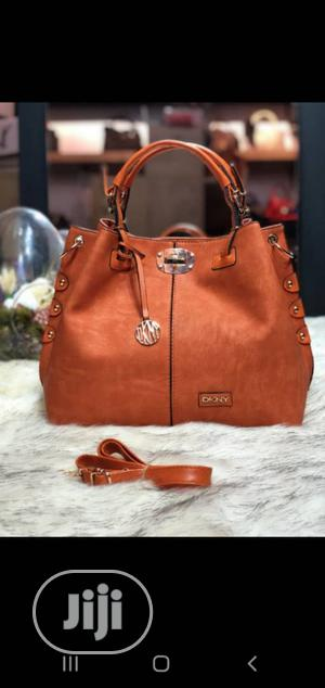 New Female Turkey Brown Leather Bags   Bags for sale in Lagos State, Isolo