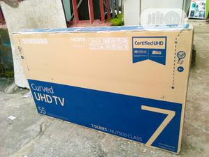 Brand New SAMSUNG 55inches Smart Curve,Tv,4K,Wi-fi, Internet | TV & DVD Equipment for sale in Lagos State, Ojo