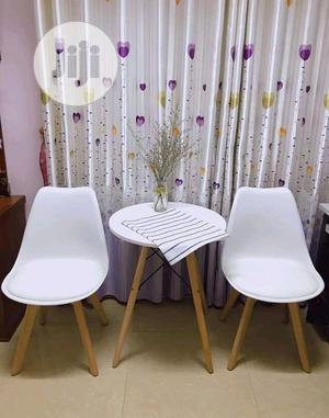 Portable Set Of Coffee/Restaurant Table With 2 Chairs(60*60) | Furniture for sale in Lagos State, Ojo