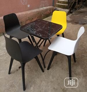 Super Quality Set of Foldable Coffee Table With 4 Chairs | Furniture for sale in Lagos State, Ojo