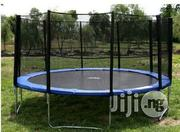 Standard Trampoline Set With Protective Net | Sports Equipment for sale in Rivers State, Port-Harcourt