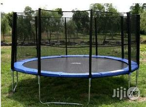 Standard Trampoline Set With Protective Net   Sports Equipment for sale in Rivers State, Port-Harcourt
