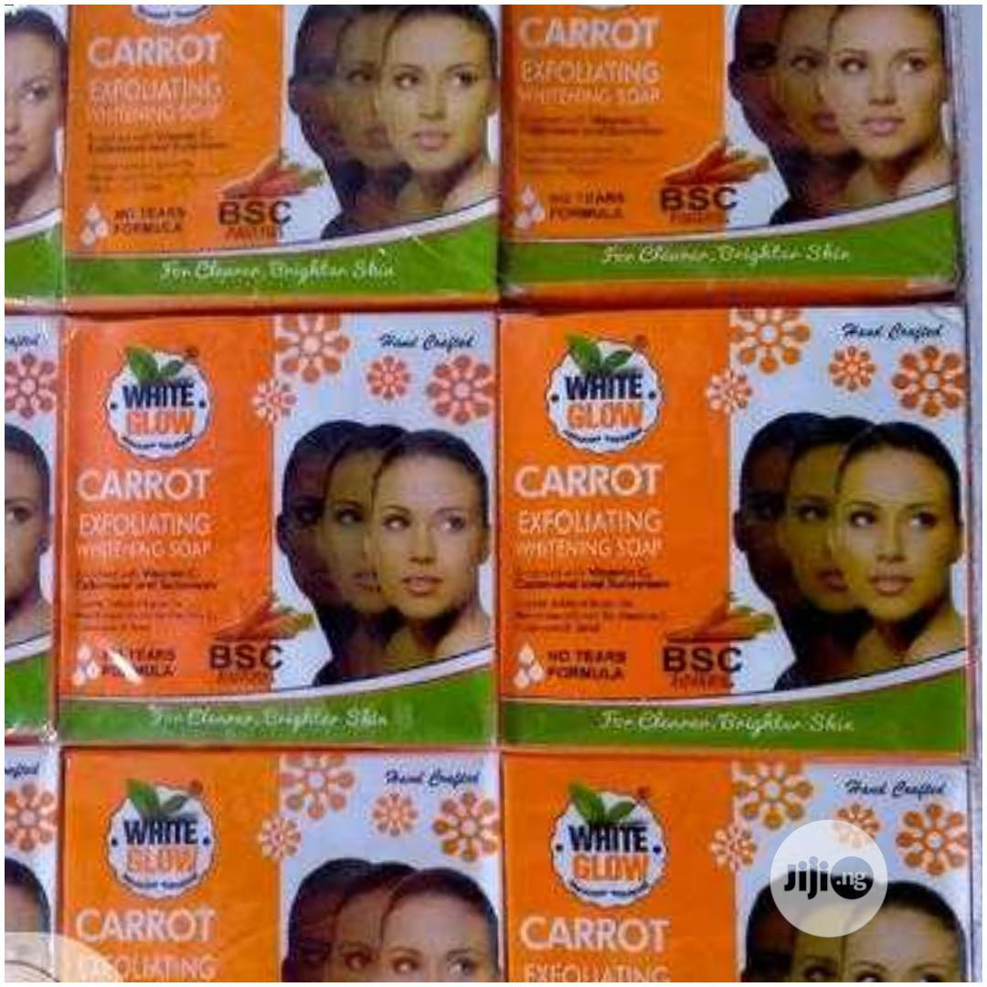 Archive: White Glow Carrot Exfoliating Whitening Soap