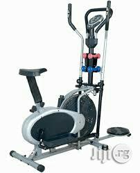 New Elliptical Orbitrac Bike With Twister and Dumbbels | Sports Equipment for sale in Rivers State, Port-Harcourt