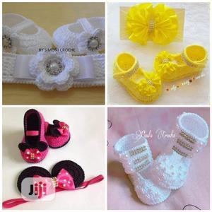 Unique Kitted Baby Shoes & Knitted Dresses For BOYS & GIRLS | Children's Shoes for sale in Lagos State, Ojodu