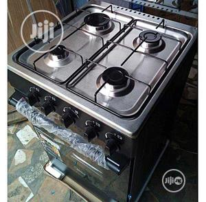 New Midea 4gas Burners Oven 50 by 50 Blue Flame Warranty   Kitchen Appliances for sale in Lagos State, Ojo