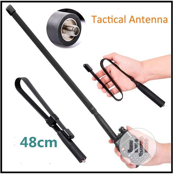 48CM Foldable Tactical Walkie Talkie Antenna