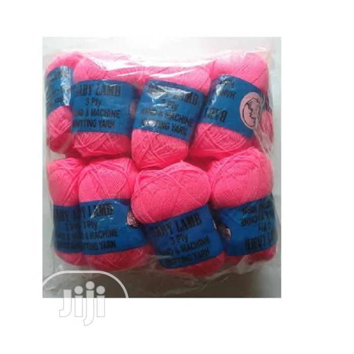 Knitting Yarn/Wool Fuschia Pink 16 Pieces