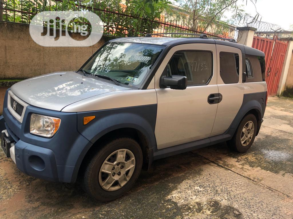 Honda Element 2006 EX 4WD Automatic Silver | Cars for sale in Owerri, Imo State, Nigeria